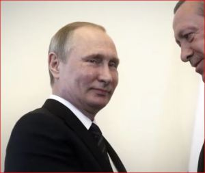 Turkish President Tayyip Erdogan speaks to Russian President Vladimir Putin-6