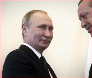 Turkish President Tayyip Erdogan speaks to Russian President Vladimir Putin-6