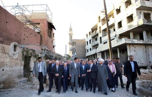 president-al-assad-in-daraya-2