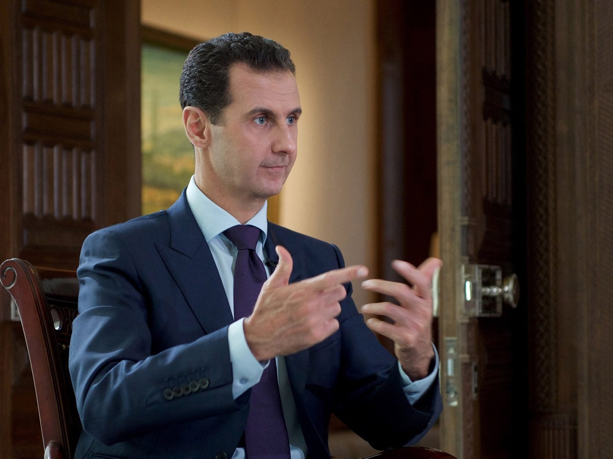 President Alassad Interview To Denmark's Tv2: €�moderate Opposition Is A  Myth… We Won't Accept That Terrorists Will Take Control Of Any Part Of  Syria""