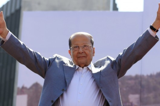 general-michel-aoun-christian-president-of-lebanon