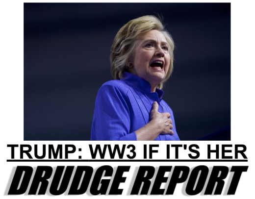 Image result for hillary president ww3