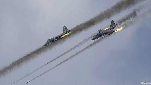 Long Convoy of Terrorists' Vehicles Destroyed in Syrian Airstrikes