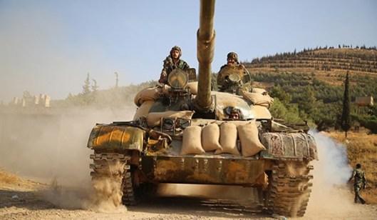 シリア軍・アンド・人気-力打ち上げ-新鮮な攻撃