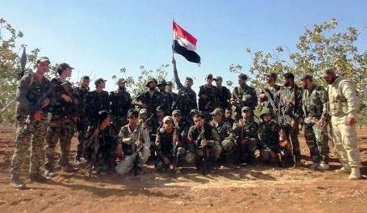 シリア軍部隊キャプチャ