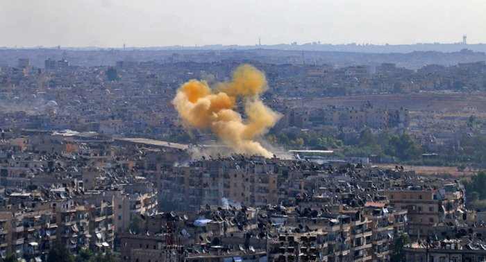 terrorists-launched-grad-missiles-on-aleppo-south-west