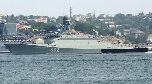 The Zelyony Dol small missile ship. © Vasiliy Batanov / Sputnik