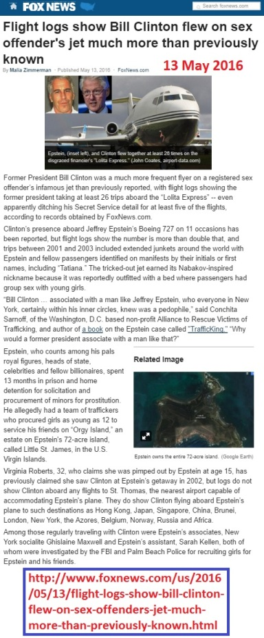 foxnews-flight_logs_show_bill_clinton_flew_on_sex_offenders_jet_much_more_than_previously_known