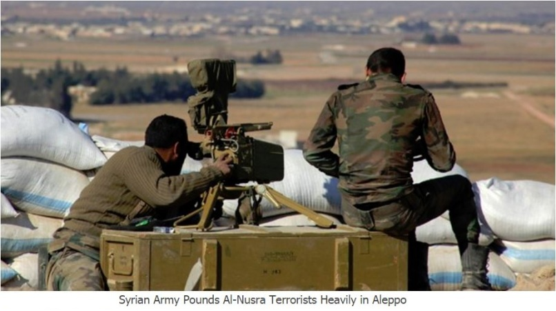 syrian-army-pounds-al-nusra-terrorists-in-aleppo