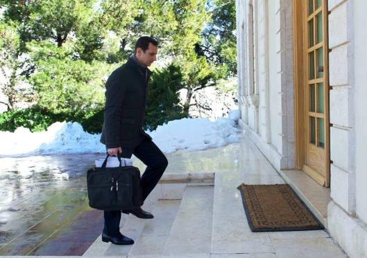 president-al-assad-at-work