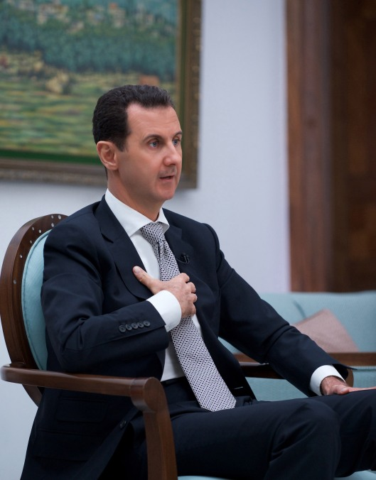 president-al-assad-interview-japan-tbs-channel-1