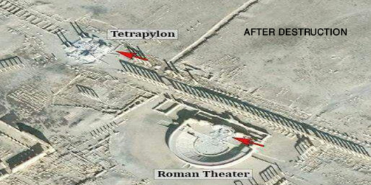 roman-theatre-tetrapylon-palmyra-destruction-isis