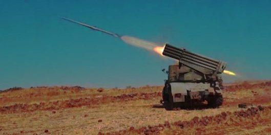 SAA-shot down drone