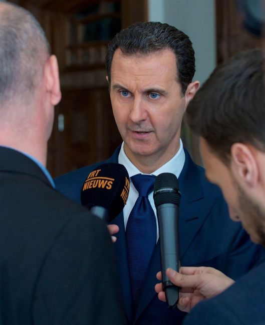 bashar-al-assad-with-belgian-delegation-1