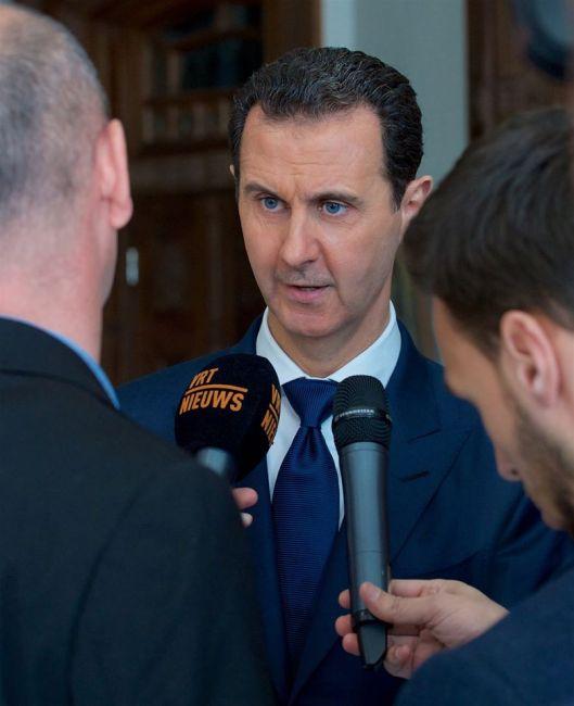 bashar-al-assad-with-belgian-delegation-1