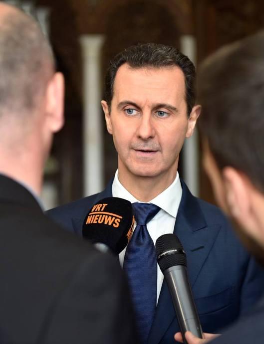 bashar-al-assad-with-belgian-delegation-2
