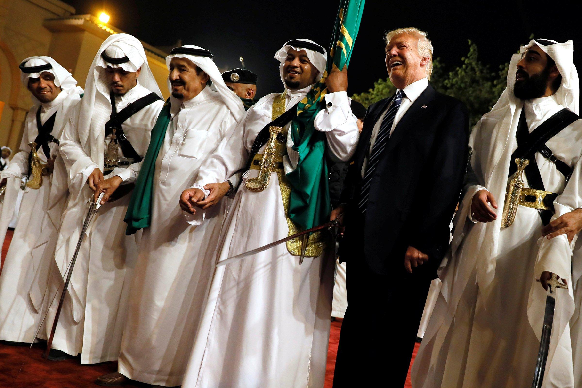 Trump in Saudi Arabia ... Ivanka Trump Supporters