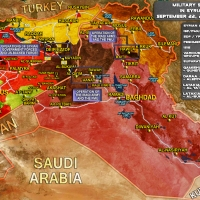 Map of Military Situation in Syria and Iraq [22/9/2017]