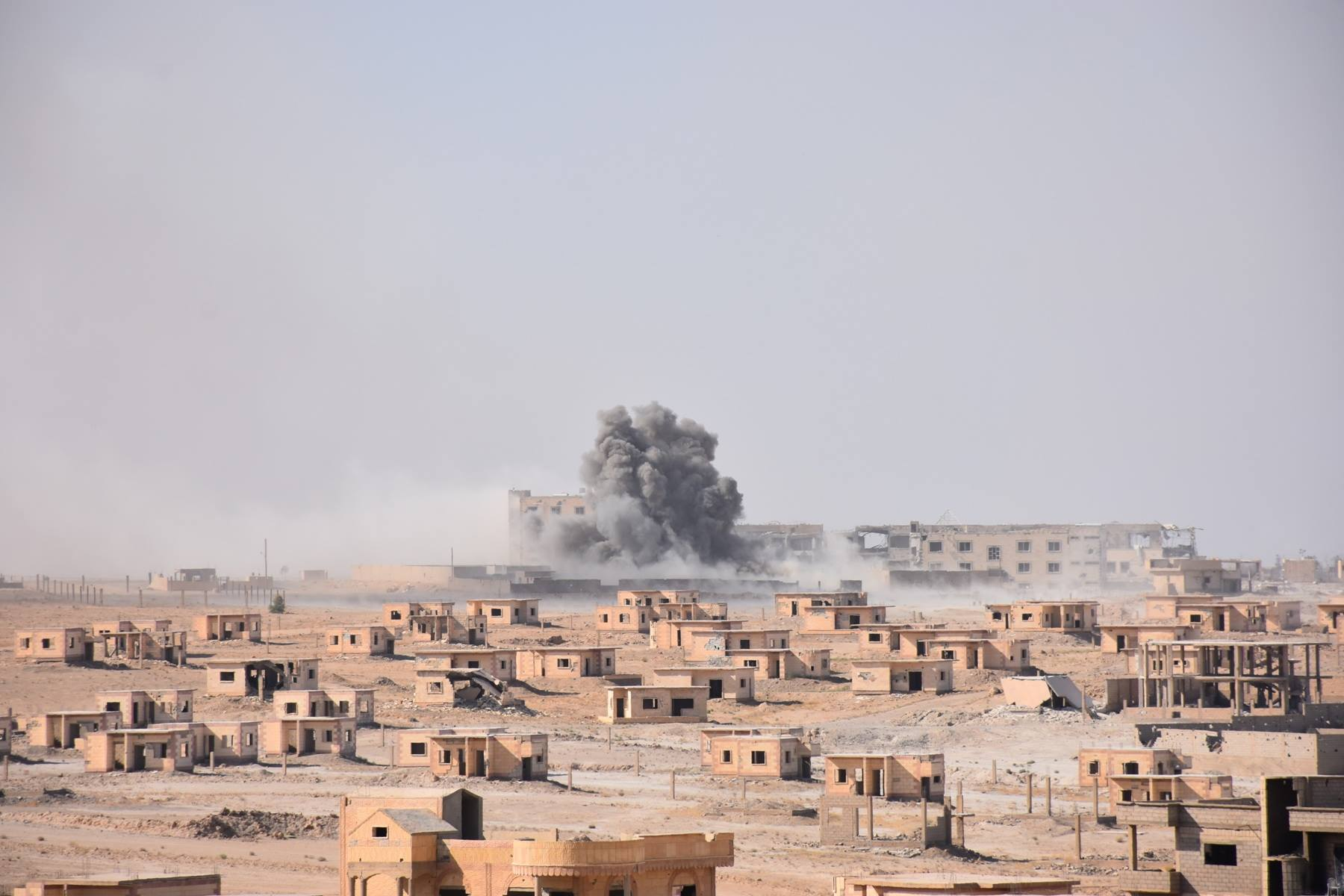 """SAA: """"Tables have turned, battle goes on: ISIS surrounded in Deir ez ..."""