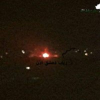 The Zionist regime hit Damascus Airport area with rockets, SAA down an Israeli drone