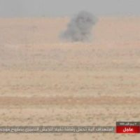 Daesh trying to delay the advancement of Syrian Arab Army on Iraqi border with ATGM anti-tank guided missiles, provided by U.S. Department, shipped from Romania and  Bulgaria