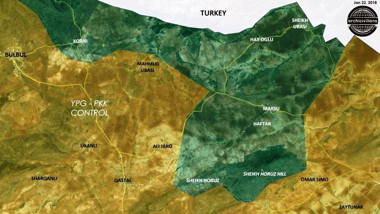 Russia is offering the US a Turkish olive branch in Afrin the