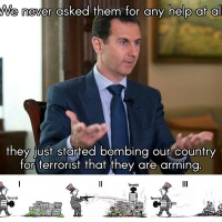Terrorist gangs in Syria are nothing but Zion-Americans dummies