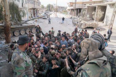 Bashar al-Assad in Ghouta (2)