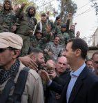 Bashar al-Assad in Ghouta (4)