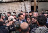 Bashar al-Assad in Ghouta (6)