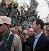 Bashar al-Assad in Ghouta (7)