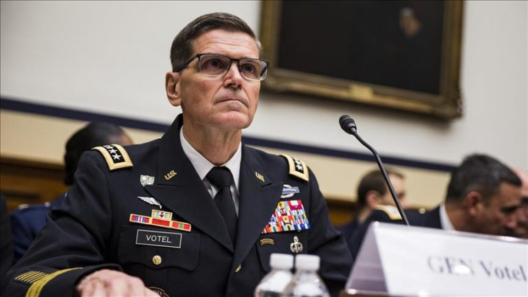 Speaking during a Senate Armed Services Committee hearing on March 13, Army  Gen. Joseph Votel, commander of U.S. Central Command, claimed Russia and  Iran ...